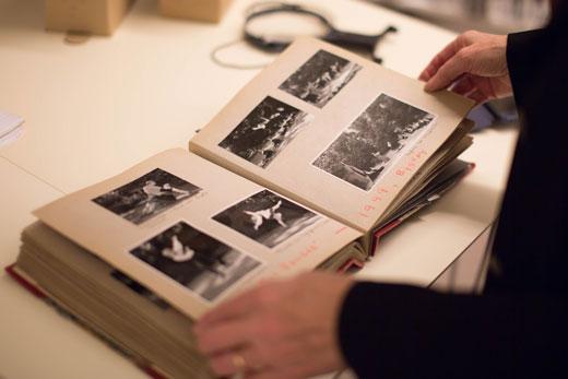 Intervju med Fiona Jane Ellingsen. Foto fra Dansearkivet