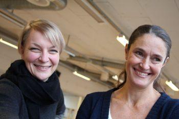 Camilla Myhre og Caroline Wahlström