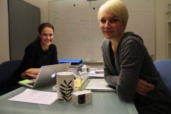 Caroline Wahlström Nesse og Camilla Myhre